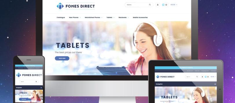 Fones Direct Shopify Store Showcase