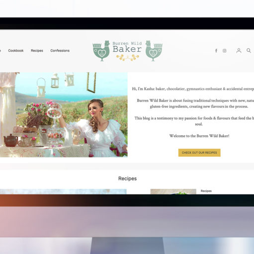 Burren Wild Baker Website Showcase
