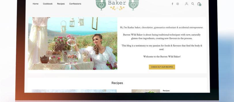 Burren Wild Baker Website Showcase
